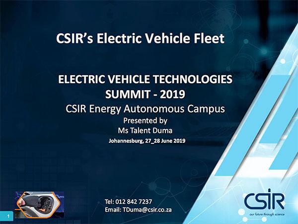 CSIR Presentation
